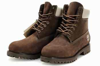 bottes timberland marron femme