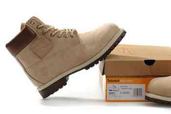 timberland vente chaussures, Timberland Kaki Stitching Lines